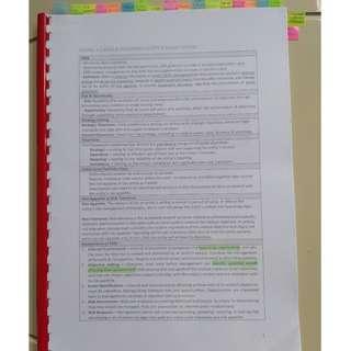 NTU AC3104 Bible (Hardcopy)