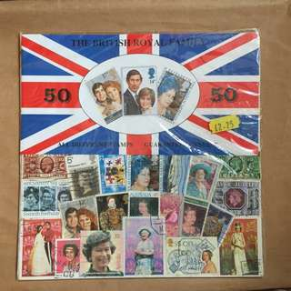 The British Royal Family Stamps