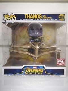 Thanos with Sanctuary 2 Pop! Vinyl Figure (MCC Exclusive)