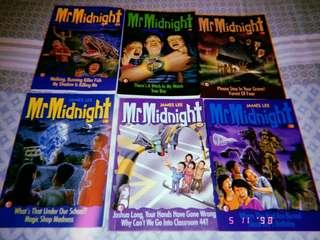 Mr Midnight books lot