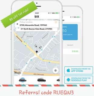 New rideshare! SIXTNC