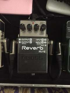 Boss Reverb RV6