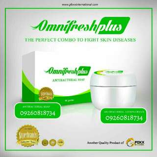 Omnifresh Plus Soap & Cream Duo
