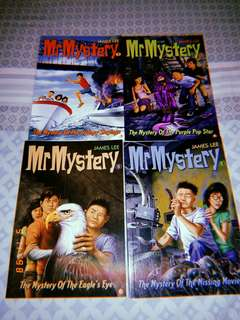 Mr Mystery books Lot