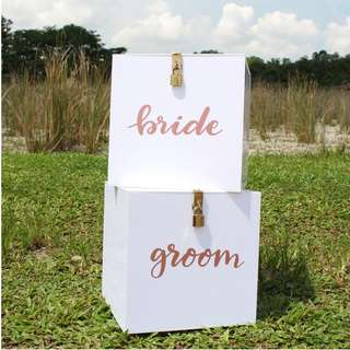 Wedding Red Packet Box (1 pair)
