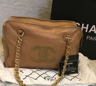 Chanel guaranteed authentic chain bag