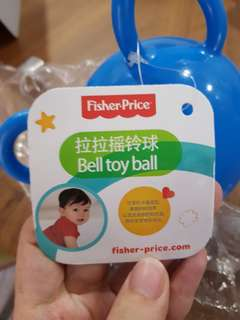 Fisher Price Bell Toy Ball