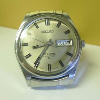 1975s' Seiko Lord Matic 23-J automatic watch
