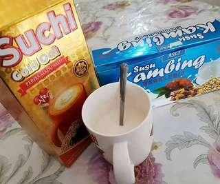 Suchi oat rm40/susu kambing rm45
