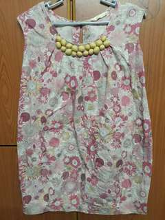Floral Dress (fits to 4-5 yrs old)