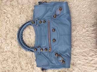 Balenciaga City Bag Blue Colour