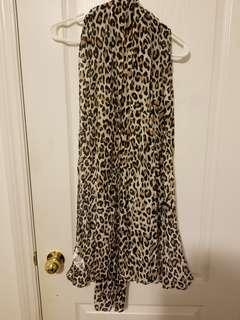 H&M Cheetah Print Scarf