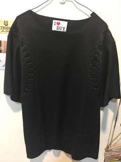 🚚 [全新]男浮雕花紋上衣