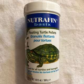 New Nutrafin Turtle Pellets 360g exp2020/11