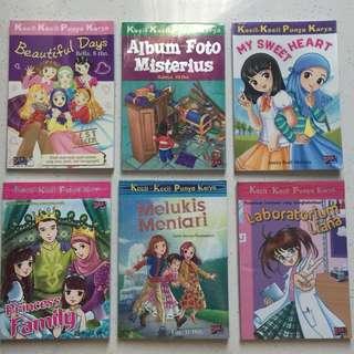 Novel Buku KKPK (Kecil Kecil Punya Karya) Dar! Mizan