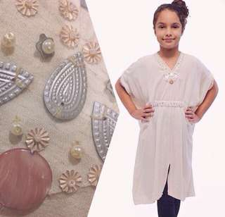 Girls Kaftan 6-9 yo