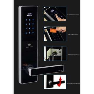 Electronic Password Keypad Card Door Lock