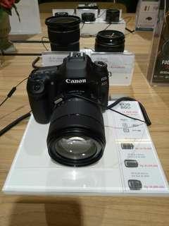 Kamer Canon Eos 80D Bisa Di kredit nih