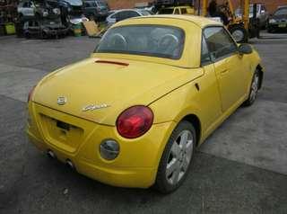 Daihatsu Copen Rear Parts For Sale