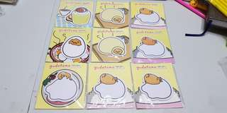 Gudetama Post it