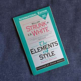 The Elements of Style (Elements of Composition Series) by William Strunk Jr.,  E.B. White