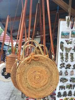 Rattan Bag Clutch