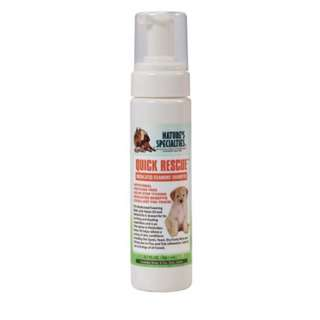 NATURE'S SPECIALTIES - QUICK RESCUE MEDICATED FOAMING PET WASH