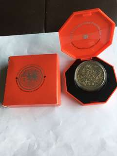 Spore 1993 Yr of Rooster $10 Proof-like Coin