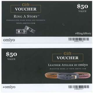 Omiyo Vouchers (Customised Couple Rings)