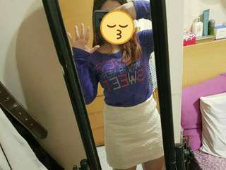 🚚 BSX上衣+白短裙