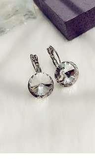 氣質水晶耳環 包郵
