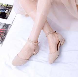 BN nude sandals