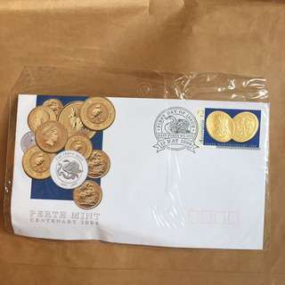 Perth mint centenary 1999首日封