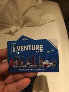 iventure card ocean park and others atteaction in hong kong hongkong and macau DISneyland