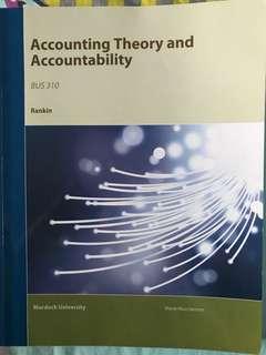 Accounting Theory & Accountability (Murdoch) Rankin