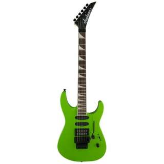 Jackson X Series Soloist SL3X Electric Guitar, Slime Green