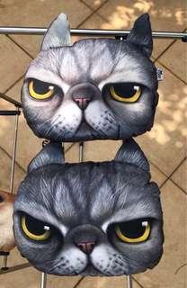 汽車頸枕-貓