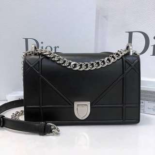 Authentic Diorama Small Flap Bag
