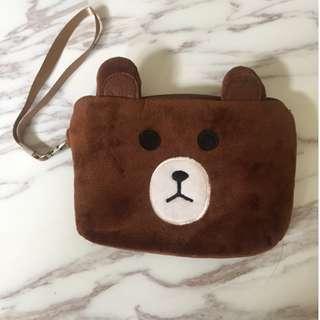 熊熊 收納包 化妝包 小包包 包包