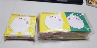 Molang Post It Notes‼️FREE NORMAL MAIL‼️