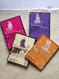 Sakura Wars Volume 1-4