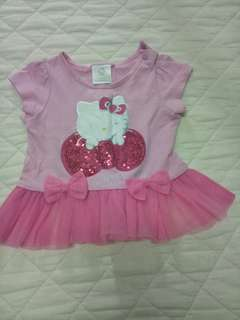 Authentic Hello kitty sequin top