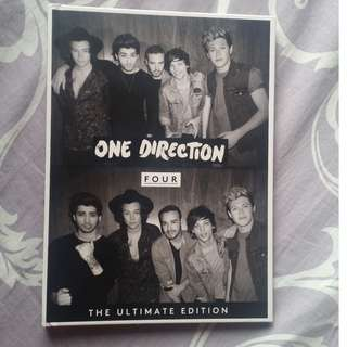 ONE DIRECTION - FOUR : THE ULTIMATE EDITION