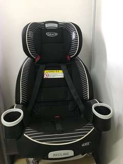 Graco 4 ever Car Seat Rockweave