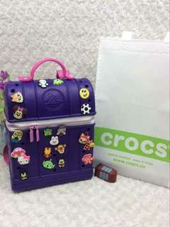 CROCS BACKPACK rt-P870 Size : 12 inches With pins & Dust Bag Code : SsOH