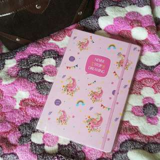 Unicorn Notebook (Pink)