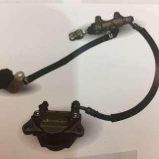 GRT Master Brake Pump(set) Rear