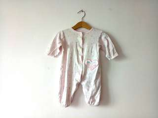 Authentic Carter's Child of Mine Baby Romper