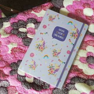 Unicorn Notebook (Purple)