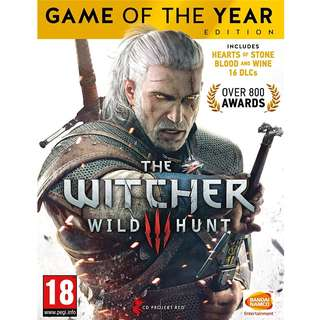 [PC] The Witcher 3: Wild Hunt - Game of the Year Edition - Digital Code Download